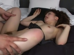 This Japanese hoe loves fucking a lot and missionary is her favorite position