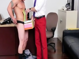 Big guy and small boy gay sex video xxx Lance's Big Birthday Surpr
