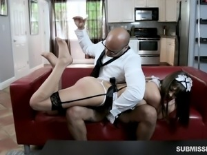Hiring a great maid Shae Celestine and fucking her rally hard every day