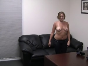Charlotte covered in semen after a nice fucking session