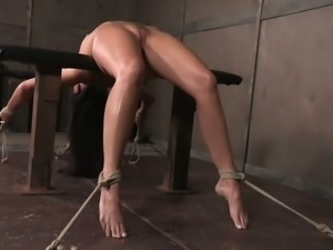 India Summer doesn't really want to escape as she loves the punishment