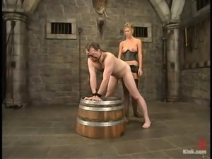 Andy Mann enjoys the way Miss Brooke plays with his cock
