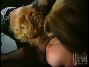 strapon sex with horny blondes in a hot lesbian scene