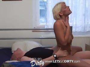 Hausfrau wird richtig durchgefickt