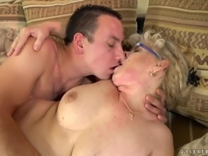 Viola Jones is a mature blonde whose body is all a guy craves