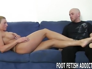 Worship my feet, slave boy