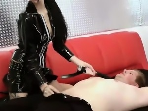 Double Penetration in Red Latex