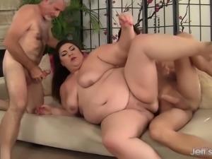 Fat double penetration