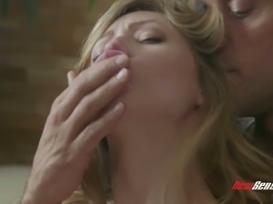 Ivy Wolfe has a sweet pussy and this babe is so sensual and romantic