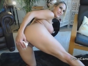 Hot Blonde With Big Boobs and Big Ass