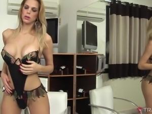 Tayra with long dick masturbating passionately