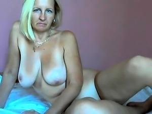 Rhyse Richards big boobs blonde mature