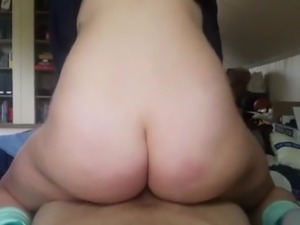 I love white girls with ass