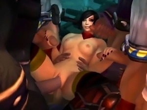 3D Cartoon - Adult Toon and Sex Adult Games Compilation  - W