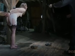 This lewd slut has a very nice butt and that ass deserves a good whipping