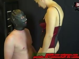 Zum Schwul werden - fedom lady make him gay