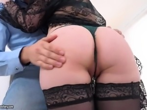 Tight butthole of ardent Russian redhead Shelley Bliss is need some drilling
