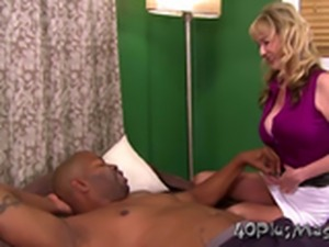 Hot Danielle loves her black cock
