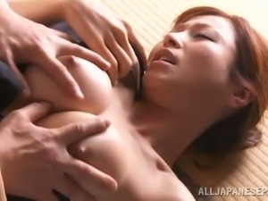 Redhead Japanese Beauty Fucking Doggystyle With Guy From Tokyo