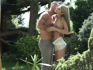 Svelte and quite leggy Russian girl Gina Gerson is so into some anal