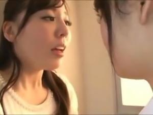 Little Asian Schoolgirl Thoroughly Dominates LesbianTeacher