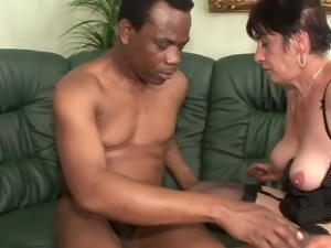 Hairy mature fuck bbc