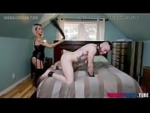 TS Pornstar Foxxy Punishes Her Loser Boyfriend - See Full Video at...