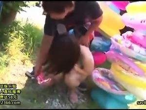 Japanese big boobs girl drunk sex