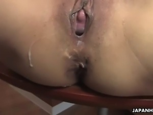 Maid mai mizusawa pisses in face and gets gangbanged