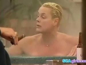 Brigitte Nielsen NUE dans Big Brother