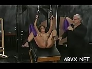 Neat amateur honeys hard sex in slavery extreme show