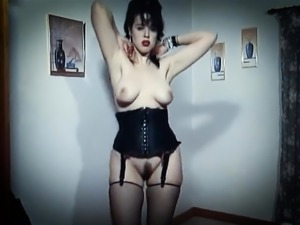 LOVE IN A VOID - vintage British hairy goth dance tease