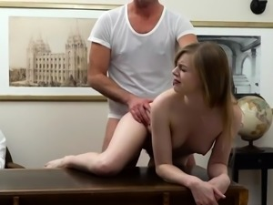 Teen threesome fuck first time I've looked up to