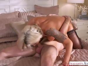 Sexy mother seduced son