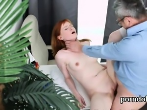 Cute college girl is teased and pounded by older inst80yzb