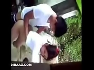 desi College lovers caught fucking behind hostel