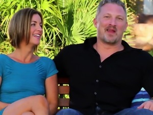 Matt and Alexis engage in hot foreplay