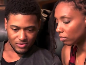 Black couple finds a drama free chick