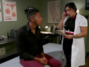 Medical Mistress Mia Little Dominates Stubborn New Patient S
