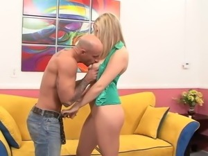 Big Titted Blonde gets a good Fucking