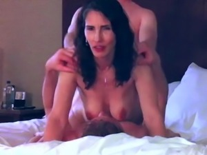 Amazing Cuckolded Wife Shared With A Friend (Double Vaginal)