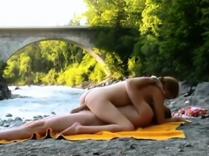 Beach Boat and Big boobs