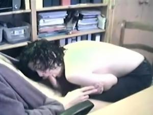 Hidden cam - Blowjob at the office