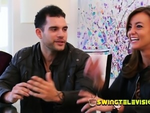 Swinger couples play ''would you rather'