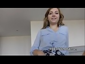 18 years old teen first casting