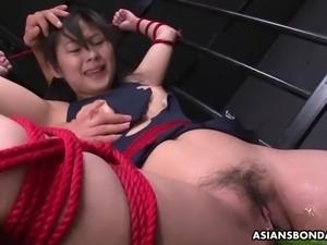 Sub slut sayaka gets toyed by vegetables and sucks dicks