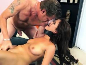 Dissolute darling fucks hard till climax