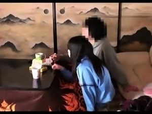 Beautiful Japanese schoolgirl getting fucked on hidden cam