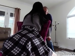 Teen skirt anal first time She struggles to get the cable sh