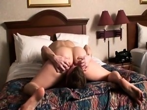 Mature brunette pussy lick and blowjob